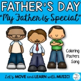 Father's or Dad's Day Original Song, and Literacy Activiti