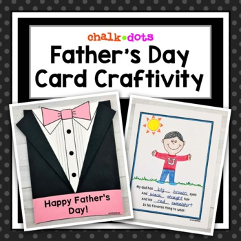 Father's Day Craftivity Poem Book