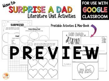 Father's Day Activities - How to Surprise a Dad