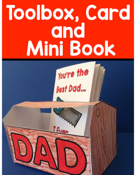 Father's Day Craft, Card and Mini Book