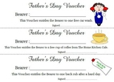 Father's Day A Voucher Gift for Father's Day