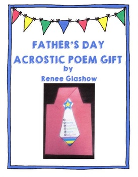Father's Day Acrostic Poem Gift