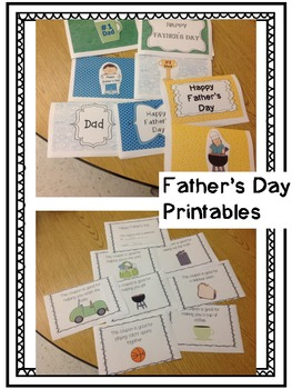 Father's Day Activities (Crafts, Cards, and Coupons)