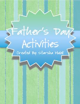 Father's Day Activities (S. Malek Freebie)