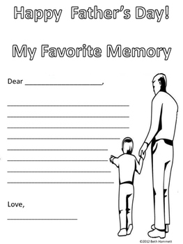 Father's Day Activities for Elementary Grades