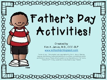 Father's Day Activities!