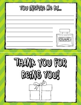 Father's Day Activity: A QUICK Print and Go Writing Activity for Grades 3-6