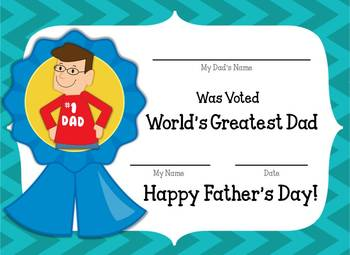 Fantastic Fathers {Father's Day Activity Pack}