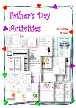 Father's Day Activity Pack