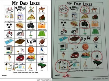 Fathers Day Activity Pack