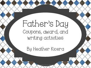 Father's Day Activity Printables
