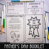 Distance Learning Father's Day No-Cut Award Booklet