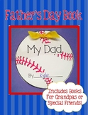 Father's Day Book (Baseball Shaped)