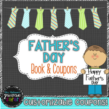 All About My Father\'s Day Coupon Book Teaching Resources | Teachers ...