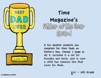 Father's Day Booklet (Grandpa's, Uncle's)