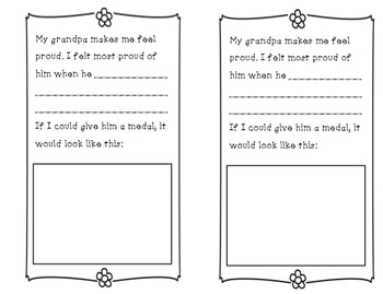 Father's Day Booklets for Grandpa and Uncle