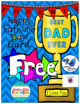 Father's Day Card FREEBIE of the WEEK!