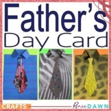Father's Day Card - Shirt Craft