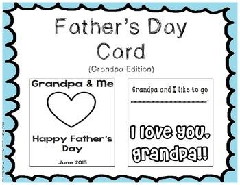 Father's Day Card - Grandpa Edition