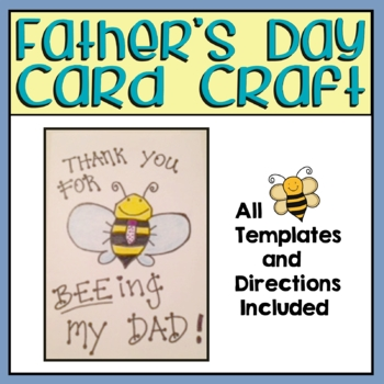 Fathers Day Card Project