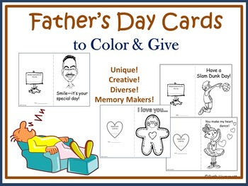 Father's Day Cards: 30 Make & Give Activities