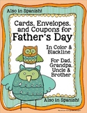 Father's Day Cards, Coupons & Envelopes for Dad, Grandpa &