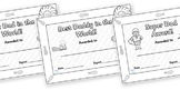 Father's Day Certificates- Coloring