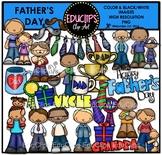 Father's Day Clip Art Bundle {Educlips Clipart}