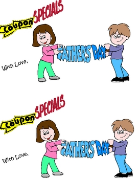 Fathers Day Coupon Book COVER