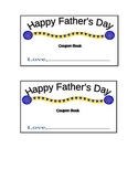 Father's Day Coupon Book Covers