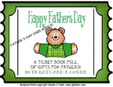 Father's Day Coupon Book and Tie Card