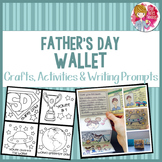 Father's Day Craft, Activities and Writing Prompts