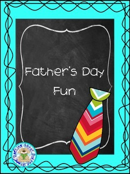 Father's Day Fun Booklet