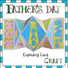 Father's Day Craft - EXPLODING Card