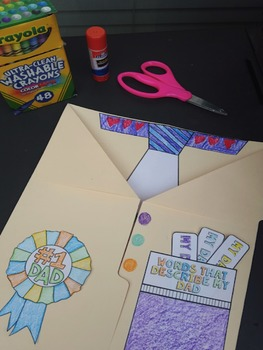 Father's Day Craft Lapbook