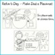 Father's Day Craft - Make DAD a Placemat