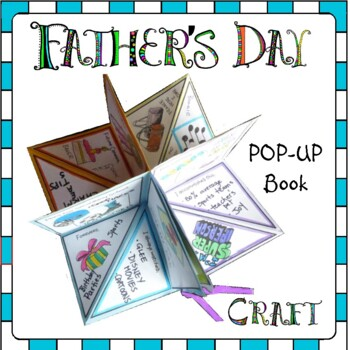 Father's Day Craft - POP-UP Father's Day Book
