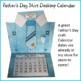 Father's Day Craft - Shirt Desktop Calendar