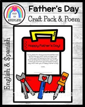 Father's Day Craft: Tool Box and Poem Keepsake