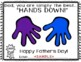 """Father's Day Craft:Simply the Best """"Hands Down!"""" Grandpa/Uncle/Brother/Step-Dad"""