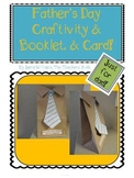 Father's Day Craftivity, Booklet, and Card