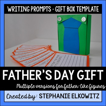 Father's Day Craft and Gift (Stepdad, Grandpa and Mom version included)