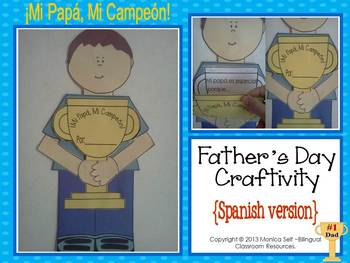 Father's Day Craftivity {Spanish version}