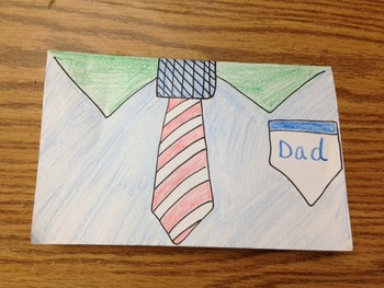Father's Day Card Craftivity and Printables (For Grandpa too!)