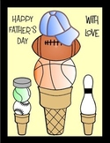 Father's Day Crafts - Build DAD a Tasty Sports Cone