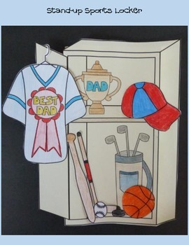 Father's Day Crafts - Build Dad a Sports Locker