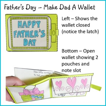 Father's Day Crafts - Make Dad a Wallet