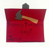 Father's Day Crafty Tool Box Card Printable