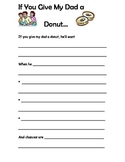 Father's Day Creative Writing: If You Give My Dad A Donut