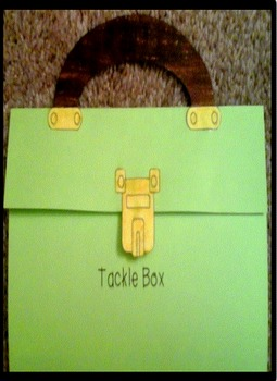 Father's Day Tacklebox craft